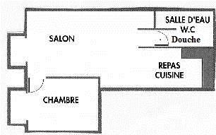 Gîte Le Tineiral à Néffiès Les Lavandes Plan